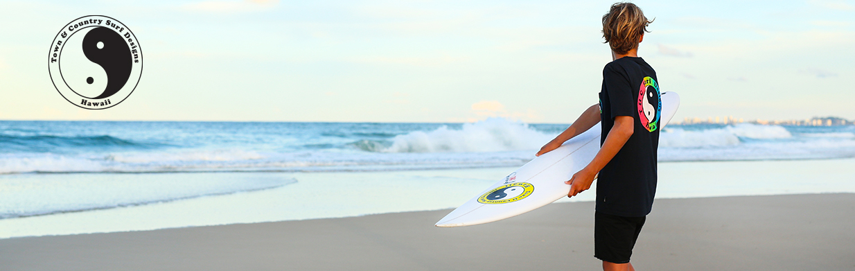 Town & Country Surf Designs Brand Banner